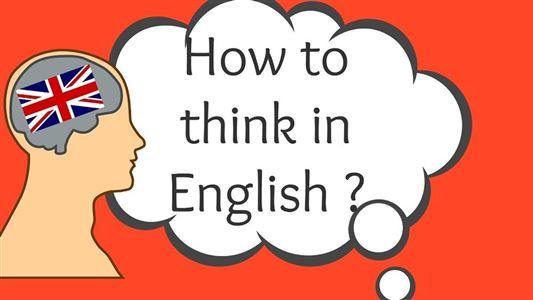 Cách nghĩ bằng tiếng Anh