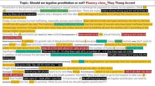 Topic: Should we legalise prostitution or not?